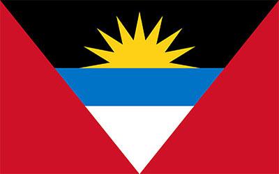 Antigua Flag 60 x 90cm