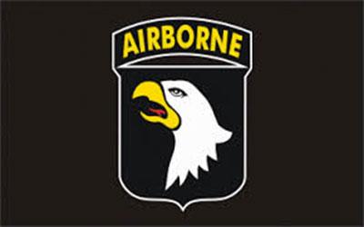 101st Airborne Flag 150 x 90cm