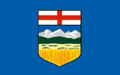 Alberta State Flag - Canada 150 x 90cm