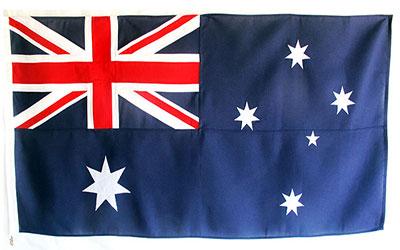 Australian Bunting Fully Sewn Flag 274 x 137cm - 3 Yard