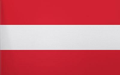 Austria Trilobal Flag - Heavy Duty 180 x 90cm