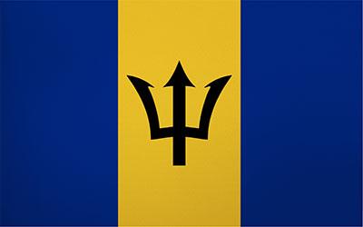 Barbados National Flag 150 x 90cm