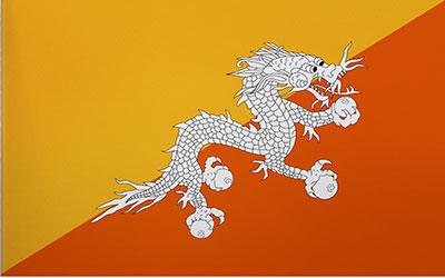 Bhutan National Flag 150 x 90cm