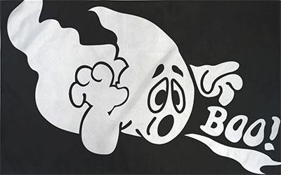 Ghost Boo Flag 150 x 90cm