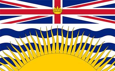 British Columbia State Flag - Canada 150 x 90cm