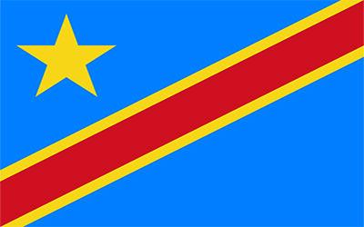 Congo Dem Republic (New) Flag 150 x 90cm