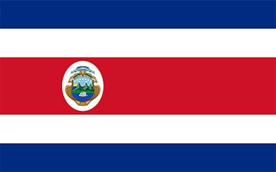 Costa Rica National Flag 150 x 90cm