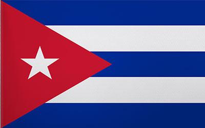 Cuba National Flag 150 x 90cm