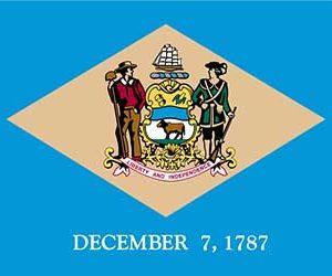 Delaware State Flag - 150 x 90cm
