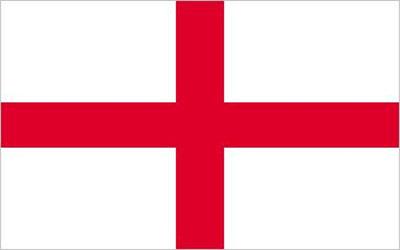 England St George Cross Trilobal Flag - Heavy Duty 180 x 90cm