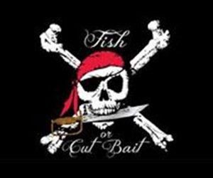 Fish Or Cut Bait Flag 150 x 90cm