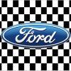 Ford Racing Car Flag