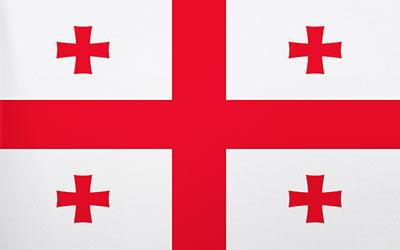Georgia National Flag 150 x 90cm