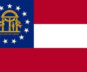 Georgia State Flag 150 x 90cm