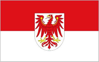 German Brandenburg Flag 150 x 90cm
