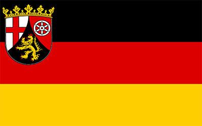 German Rhineland-Pfalz Flag 150 x 90cm