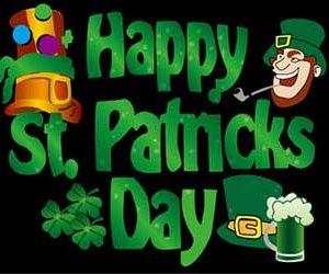 Happy St Patricks Day Flag 150 x 90cm