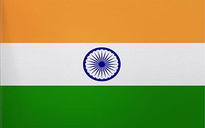 India Trilobal Flag - Heavy Duty 180 x 90cm