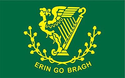Ireland Erin Go Bragh Flag 150 x 90cm