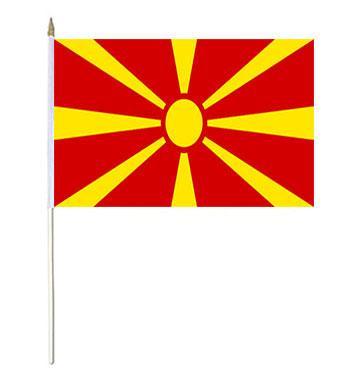 Macedonia Hand Waver Flag