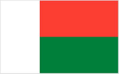 Madagascar National Flag 150 x 90cm