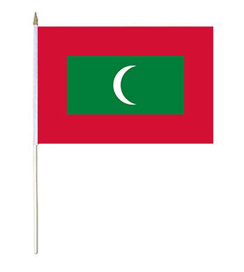 Maldives Hand Waver Flag
