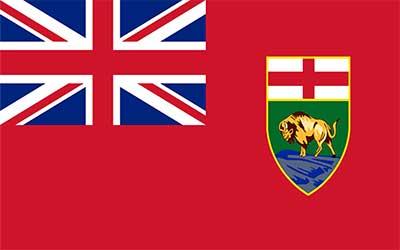 Manitoba State Flag - Canada 150 x 90cm