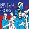 Medical Heroes Flag
