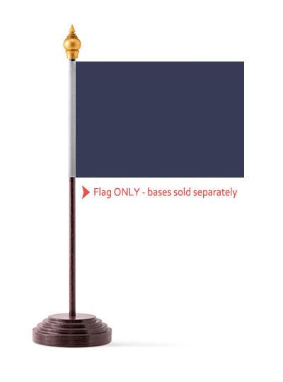 Navy Blue Table Flag
