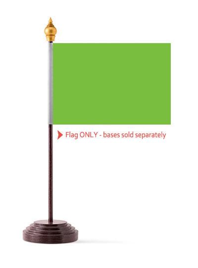 Neon Green Table Flag