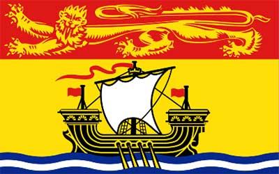 New Brunswick State Flag - Canada 150 x 90cm