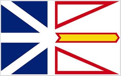 Newfoundland State Flag - Canada 150 x 90cm