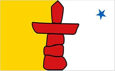 Nunavut State Flag - Canada 150 x 90cm