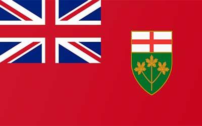 Ontario State Flag - Canada 150 x 90cm