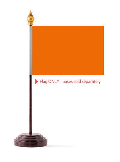 Orange Table Flag