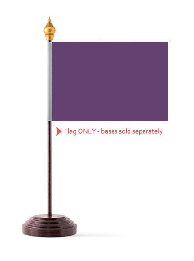 Purple Table Flag