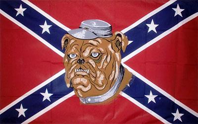 Rebel Bulldogs Flag 150 x 90cm