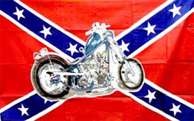 Rebel Motorcycle Flag 150 x 90cm