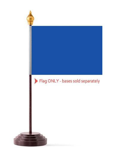 Royal Blue Table Flag