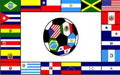 South America Soccer Flag 150 x 90cm